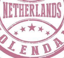 Stamp City Of Volendam Sticker