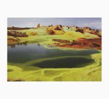 Green Lakes At Dallol Crater Kids Tee
