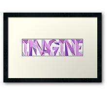 Imagine (Dragons) Framed Print