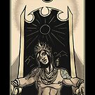 The Emperor - Sinking Wasteland Tarot by JamesGrimlee