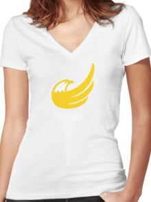 Libertarian Party Torch Women's Fitted V-Neck T-Shirt