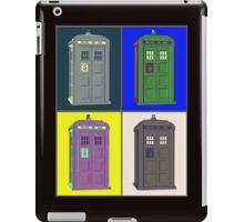 TIMEY WIMEY WARHOL TARDIS 2 iPad Case/Skin