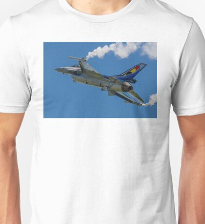 Belgian F-16AM 2012 demonstrator FA-84 Unisex T-Shirt