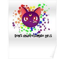 Don't Underestimate Girls Poster