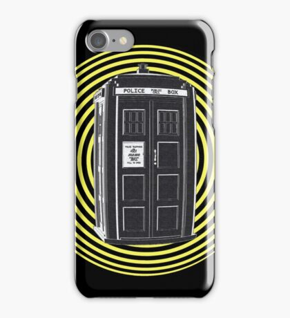 DARK TARDIS TYPE 40 iPhone Case/Skin