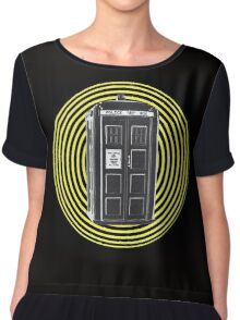 DARK TARDIS TYPE 40 Chiffon Top
