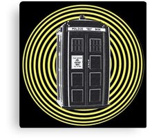 DARK TARDIS TYPE 40 Canvas Print