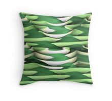 Layer after Layer Abstract Throw Pillow