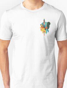 Flate Design Gypsy Tattoo T-Shirt