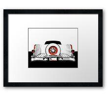 1955 Pontiac - high contrast Framed Print
