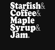 Starfish & Coffee & Maple Syrup & Jam - Prince T-Shirt T-Shirt
