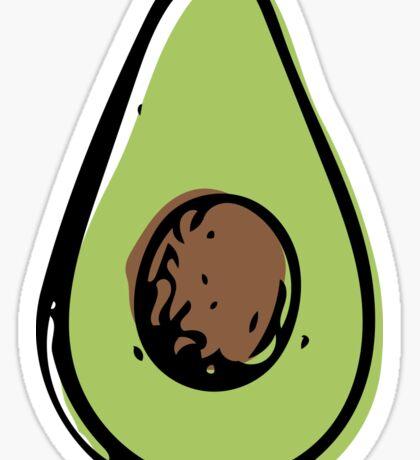 Avocad-ooOHHHH Sticker