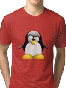 Tux illustration  Tri-blend T-Shirt