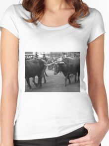Cattle Drive 7 Women's Fitted Scoop T-Shirt