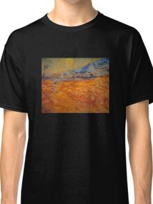 'Reaper' by Vincent Van Gogh (Reproduction) Classic T-Shirt