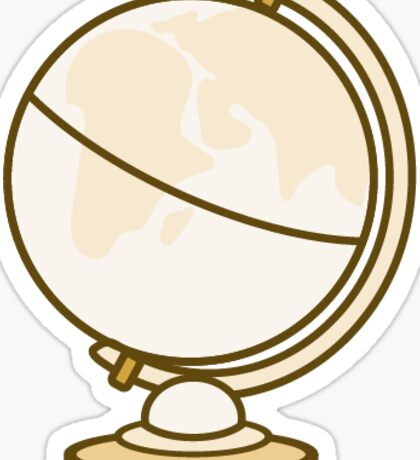 Globe: Vintage Icons Series Sticker