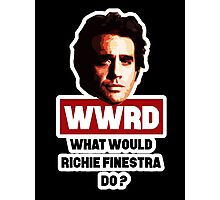 What would Richie do ? Photographic Print