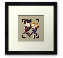Freddie and Bel Framed Print