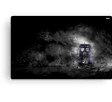 Mysterious Doctor Canvas Print