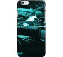 river in black and white iPhone Case/Skin