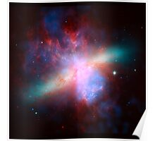 Messier 82 Galaxy Astronomy Image Poster