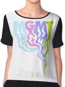 MGMT Chiffon Top