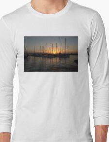 Syracuse Harbour Sunset Long Sleeve T-Shirt