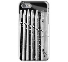 fence 00` iPhone Case/Skin