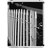 fence 00` iPad Case/Skin