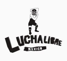 LUCHALIBRE MEXICO3 One Piece - Short Sleeve
