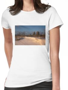 The Morning After the Snowstorm Womens Fitted T-Shirt
