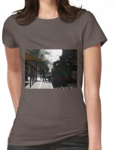 Puffing Billy  Womens Fitted T-Shirt