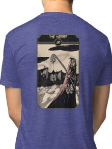 The Hermit - Sinking Wasteland Tarot Tri-blend T-Shirt