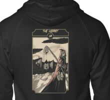 The Hermit - Sinking Wasteland Tarot Zipped Hoodie