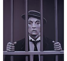 Buster Keaton Painting Photographic Print