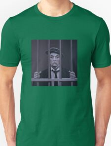 Buster Keaton Painting T-Shirt
