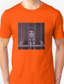 Buster Keaton Painting Unisex T-Shirt