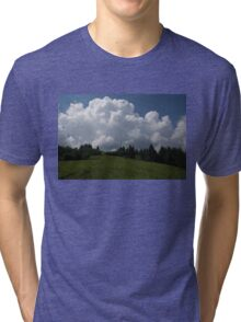 A Little Road to the Clouds Tri-blend T-Shirt