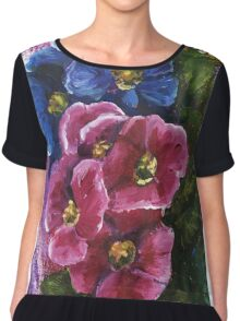 Spring Flowers Chiffon Top