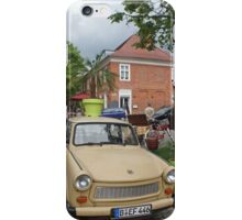 Trabant - `DDR` East German car (`Auto`) iPhone Case/Skin