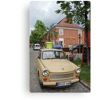 Trabant - `DDR` East German car (`Auto`) Canvas Print