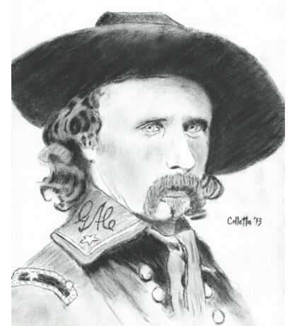 George Armstrong Custer Sticker
