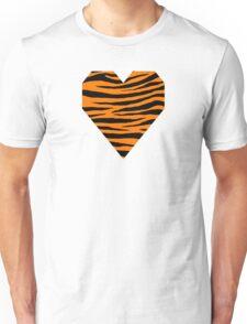 0606 Safety Orange Tiger Unisex T-Shirt