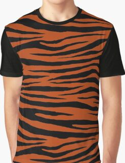 0603 Rust Tiger Graphic T-Shirt