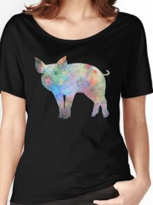 Cosmic Pig Women's Relaxed Fit T-Shirt