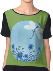Have you ever seen a dragon fly? Women's Chiffon Top