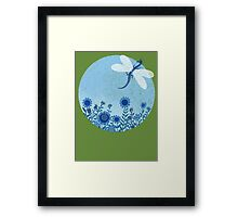 Have you ever seen a dragon fly? Framed Print