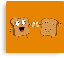 Giving A Toast Canvas Print
