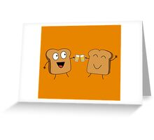 Giving A Toast Greeting Card