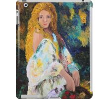 Girl in the Garden iPad Case/Skin